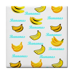 Bananas Face Towel by cypryanus