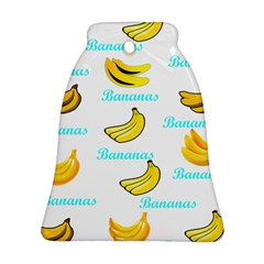 Bananas Bell Ornament (two Sides)