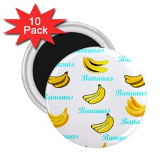 Bananas 2 25  Magnets (10 Pack)