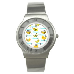 Bananas Stainless Steel Watch
