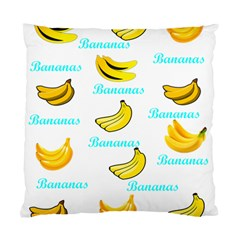 Bananas Standard Cushion Case (two Sides)