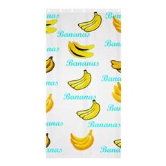 Bananas Shower Curtain 36  X 72  (stall)