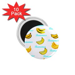 Bananas 1 75  Magnets (10 Pack)