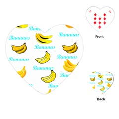 Bananas Playing Cards (heart)
