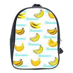Bananas School Bag (xl) by cypryanus