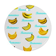 Bananas Ornament (round)