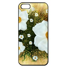 Summer Anemone Sylvestris Apple Iphone 5 Seamless Case (black) by Nexatart