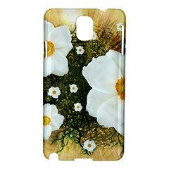 Summer Anemone Sylvestris Samsung Galaxy Note 3 N9005 Hardshell Case by Nexatart