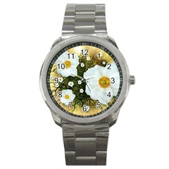 Summer Anemone Sylvestris Sport Metal Watch