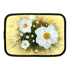 Summer Anemone Sylvestris Netbook Case (medium)