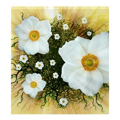Summer Anemone Sylvestris Shower Curtain 66  X 72  (large)