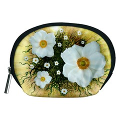 Summer Anemone Sylvestris Accessory Pouches (medium)