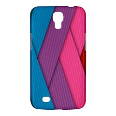 Abstract Background Colorful Strips Samsung Galaxy Mega 6 3  I9200 Hardshell Case