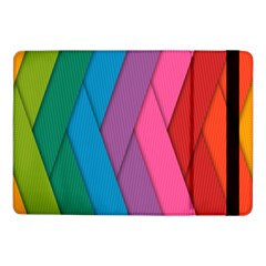 Abstract Background Colorful Strips Samsung Galaxy Tab Pro 10 1  Flip Case