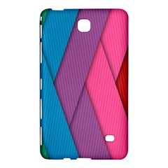 Abstract Background Colorful Strips Samsung Galaxy Tab 4 (8 ) Hardshell Case