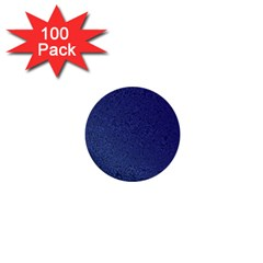 Fractal Rendering Background Blue 1  Mini Buttons (100 Pack)