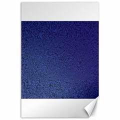 Fractal Rendering Background Blue Canvas 24  X 36