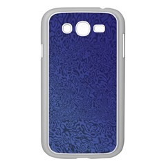 Fractal Rendering Background Blue Samsung Galaxy Grand Duos I9082 Case (white)