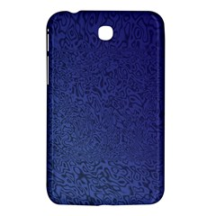 Fractal Rendering Background Blue Samsung Galaxy Tab 3 (7 ) P3200 Hardshell Case  by Nexatart