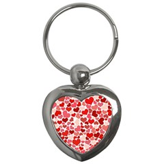 Abstract Background Decoration Hearts Love Key Chains (heart)
