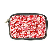 Abstract Background Decoration Hearts Love Coin Purse