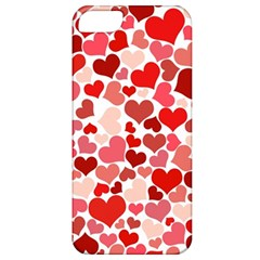 Abstract Background Decoration Hearts Love Apple Iphone 5 Classic Hardshell Case