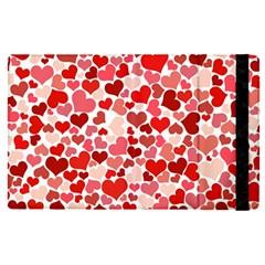 Abstract Background Decoration Hearts Love Apple Ipad Pro 9 7   Flip Case by Nexatart