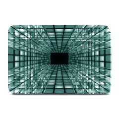 Abstract Perspective Background Plate Mats