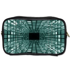 Abstract Perspective Background Toiletries Bags
