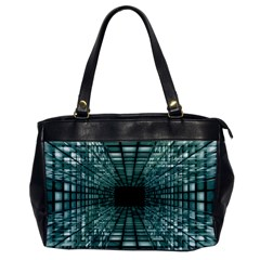 Abstract Perspective Background Office Handbags