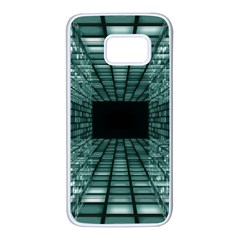 Abstract Perspective Background Samsung Galaxy S7 White Seamless Case