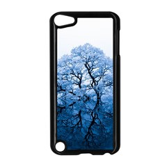 Nature Inspiration Trees Blue Apple Ipod Touch 5 Case (black)