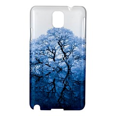 Nature Inspiration Trees Blue Samsung Galaxy Note 3 N9005 Hardshell Case