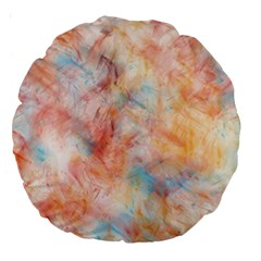 Wallpaper Design Abstract Large 18  Premium Round Cushions