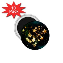 Heart Love Universe Space All Sky 1 75  Magnets (10 Pack)