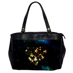 Heart Love Universe Space All Sky Office Handbags