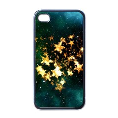 Heart Love Universe Space All Sky Apple Iphone 4 Case (black)
