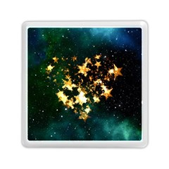 Heart Love Universe Space All Sky Memory Card Reader (square)