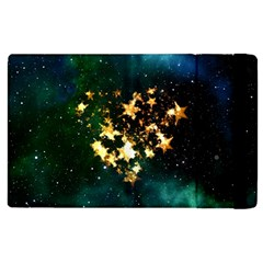 Heart Love Universe Space All Sky Apple Ipad 3/4 Flip Case by Nexatart