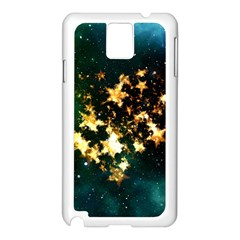 Heart Love Universe Space All Sky Samsung Galaxy Note 3 N9005 Case (white)