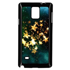 Heart Love Universe Space All Sky Samsung Galaxy Note 4 Case (black)
