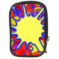 Embroidery Dab Color Spray Compact Camera Cases