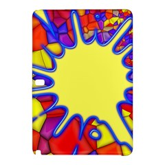 Embroidery Dab Color Spray Samsung Galaxy Tab Pro 12 2 Hardshell Case