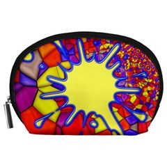 Embroidery Dab Color Spray Accessory Pouches (large)