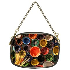Color Box Colorful Art Artwork Chain Purses (one Side)