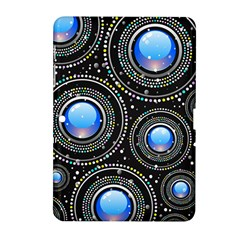 Background Abstract Glossy Blue Samsung Galaxy Tab 2 (10 1 ) P5100 Hardshell Case