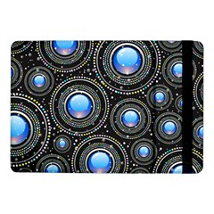 Background Abstract Glossy Blue Samsung Galaxy Tab Pro 10 1  Flip Case