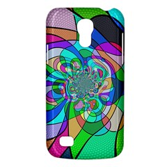 Retro Wave Background Pattern Samsung Galaxy S4 Mini (gt I9190) Hardshell Case