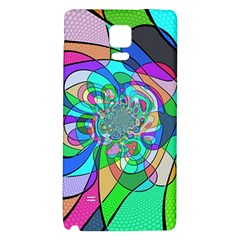 Retro Wave Background Pattern Samsung Note 4 Hardshell Back Case