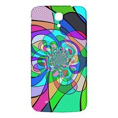 Retro Wave Background Pattern Samsung Galaxy Mega I9200 Hardshell Back Case